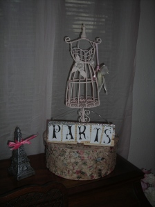 A little Paris on my piano! Ooh-la-la!