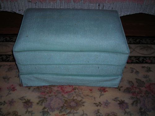 v. pretty retro ottoman ... love the color!!